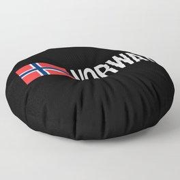 Norway: Norwegian Flag & Norway Floor Pillow