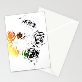 Roses Are Free Stationery Cards