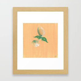 Wine Fairies 4 - Pinot Gris Framed Art Print