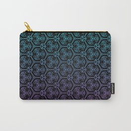 chain link - blue and purple mandala pattern Carry-All Pouch