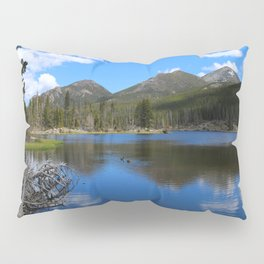 Sprague Lake And Cloud Reflection Pillow Sham