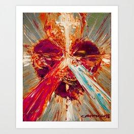 Sacred love III Art Print