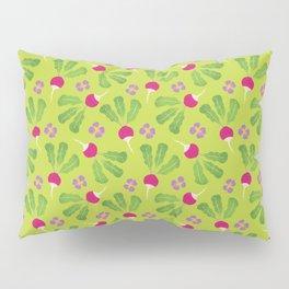 Radish Garden Pillow Sham