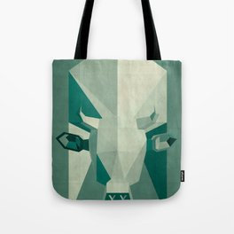 Picasso style abstract cow Tote Bag