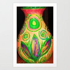 vase beauty Art Print