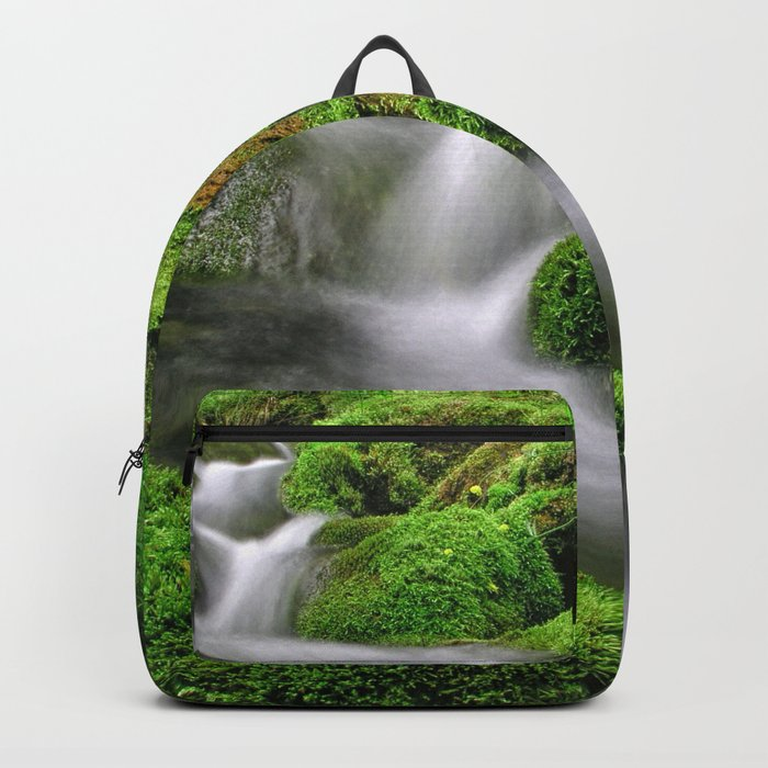 Flowing water Backpack