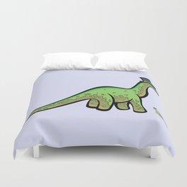 Fancy Dinosaur Duvet Cover
