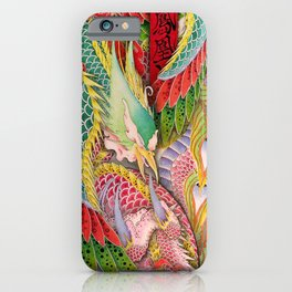 Phoenix and Dragon iPhone Case