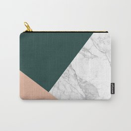 Stylish Marble Carry-All Pouch