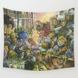 Chocolate Factory Wall Tapestry