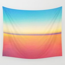 Colorful Horizon Wall Tapestry