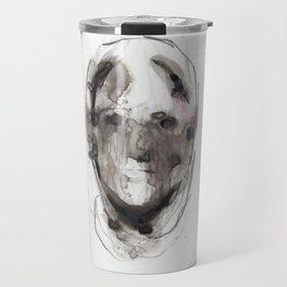 Woman With Head Wound Travel Mug