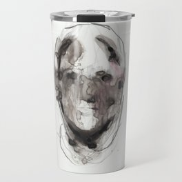 Woman With Head Wound Travel Mug