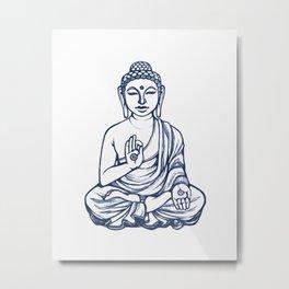 Varada Buddha (namaste) Metal Print