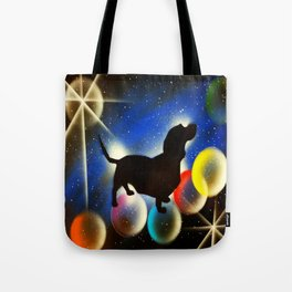 Bubbles the Dachshund  Tote Bag