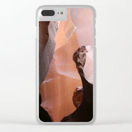 Natures Marvelous Composition - Antelope Canyon Shapes Clear iPhone Case