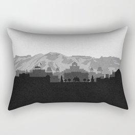 City Skylines: Jaipur Rectangular Pillow