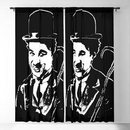 CHARLIE CHAPLIN THE COMIC GENIUS Blackout Curtain