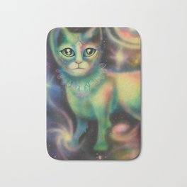 Cosmic Kitten Bath Mat