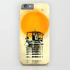 Sunset Boat Silhouette iPhone 6s Slim Case