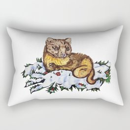 Pine Marten Rectangular Pillow