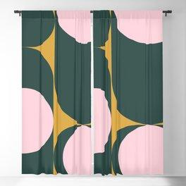 Mid century Geometric 4d Blackout Curtain