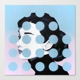 Audrey (Dots) by Famous When Dead Canvas Print