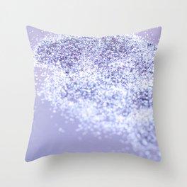 Sparkling Violet Glitter #1 #sparkling #decor #art #society6 Throw Pillow