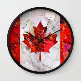 Oh Canada! Wall Clock