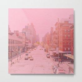 Rose Colored Village  Metal Print