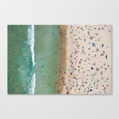 Bondi Stripe Canvas Print