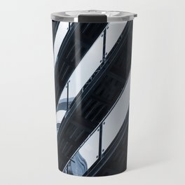 modern architecture - balconies Travel Mug