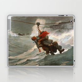 The Life Line by Winslow Homer, 1884 Laptop & iPad Skin