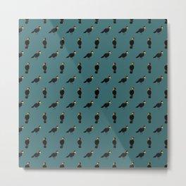 Turaco Tiles Metal Print