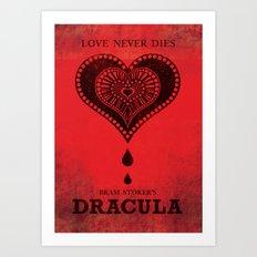 Bram Stoker's Dracula Art Print