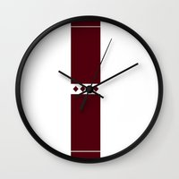 solid Wall Clocks featuring Solid by Fool design
