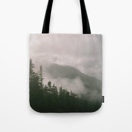 Foggy Forest (Squamish, British Columbia, Canada) Tote Bag