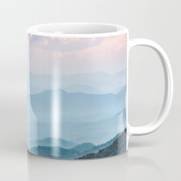 Smoky Mountain National Park Sunset Layers - Nature Photography Coffee Mug