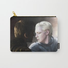 Lion (Jaime) and Lamb (Brienne) Print Carry-All Pouch