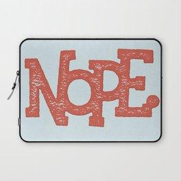 NOPE. Laptop Sleeve