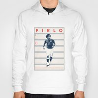 pirlo Hoodies featuring Pirlo by Dylan Giala