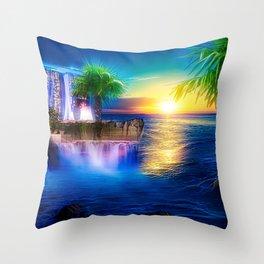 Dreamland-big Throw Pillow