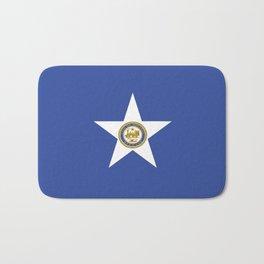 American cities-  Flag of Houston. Bath Mat