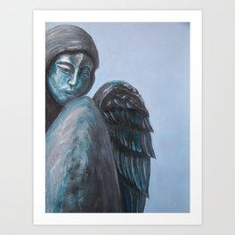 Angel RAMM Art Print