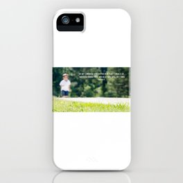 Proverbs 22 6 iPhone Case
