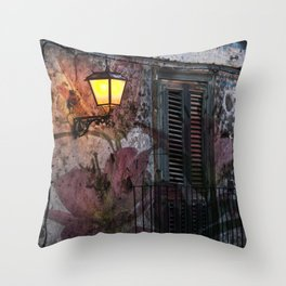Floral Architecture - Sicily Throw Pillow