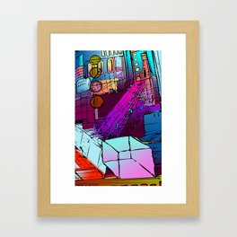 Courtyard of Thox Framed Art Print