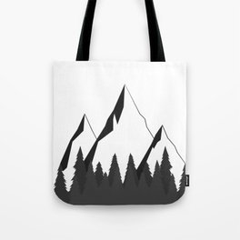 Mountain Forest Tote Bag