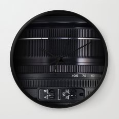 Camera Lens Wall Clock