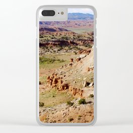 Painted Desert Valley Clear iPhone Case